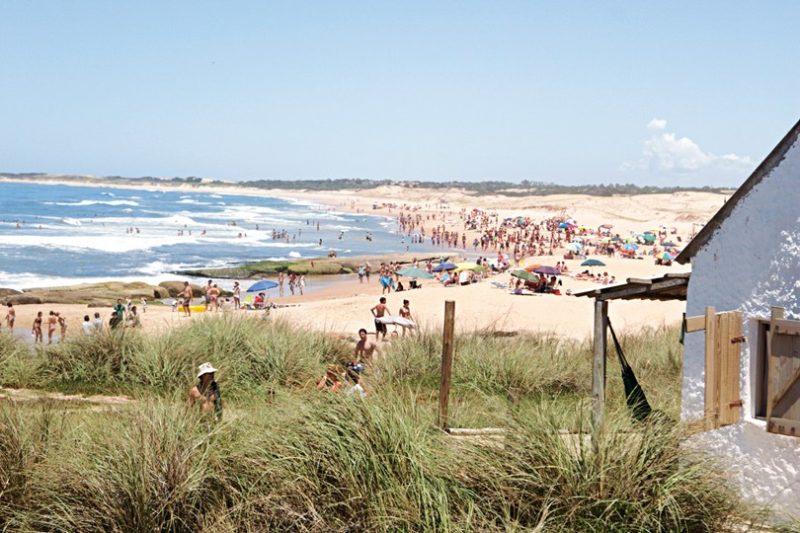 Best Beaches in URUGUAY for New Years Travel- pescadores-beach-at-punta-del-diablo-uruguay-AMLA-810x540