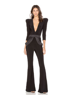 amla Informant Jumpsuit Black Zhivago