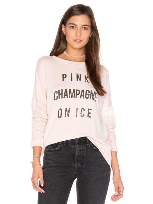 Daydreamer Pink Champagne Sweatshirt