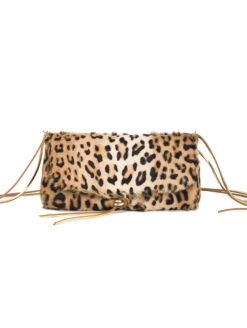 Muun Ikilon Shine Leo Bag - Leopard - Amanda Mills LA