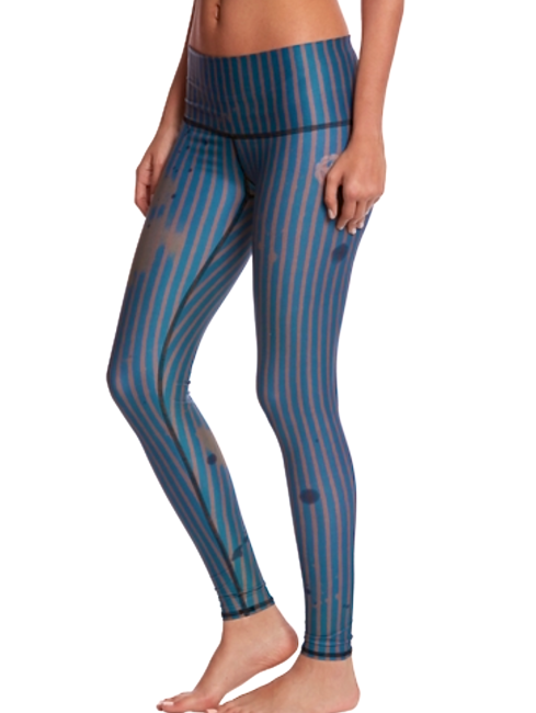 Teeki Deputy Stripped Hot Yoga Pant