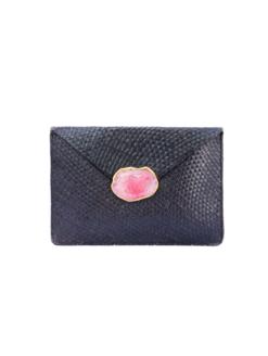 Kayu-Capri-Clutch--Agate-Stone