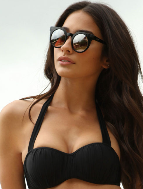 QUAY-Mirrored Frankie Sunglasses