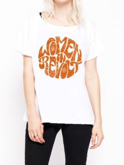 Midnight Rider - Women Revolt Boyfriend Tee - Amanda Mills Los Angeles