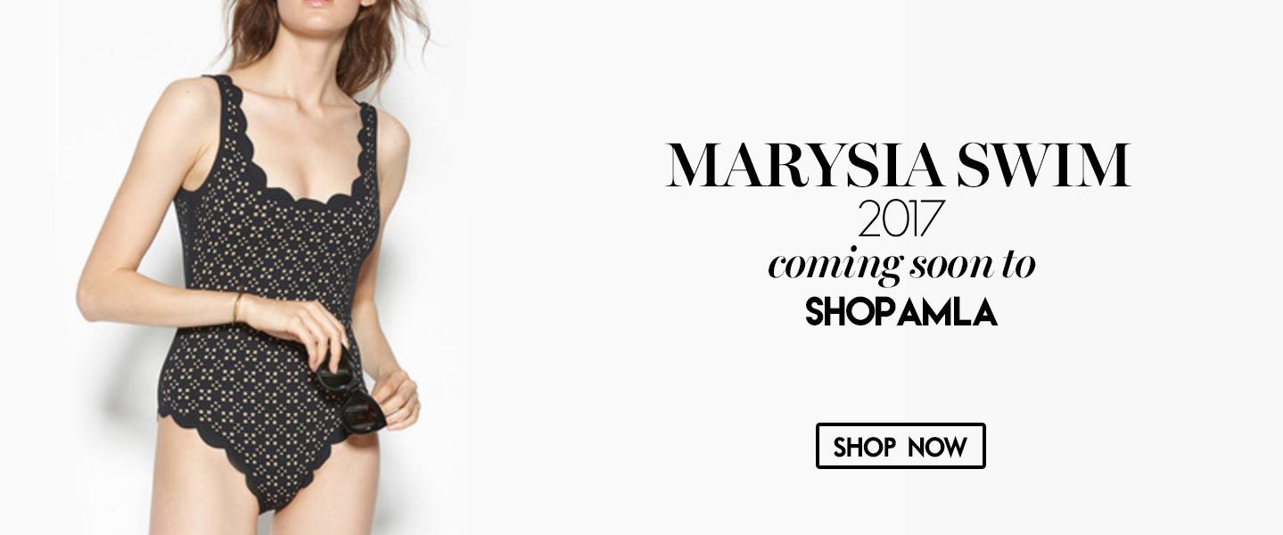 Amanda Mills Los Angeles Marysia swimwear