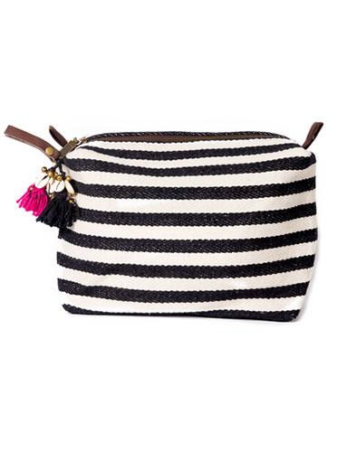 Valerie Puka Cosmetic Bag - JADEtribe - Amanda Mills LA
