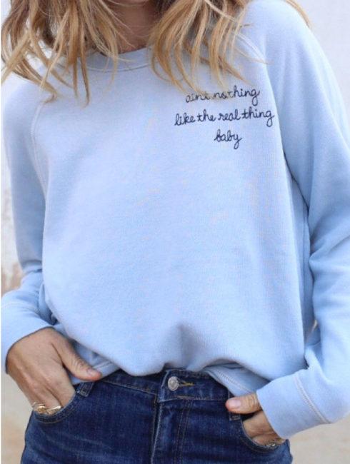 Ain't Nothing Like ... Sweatshirt - JUNK FOOD - Amanda Mills Los Angeles