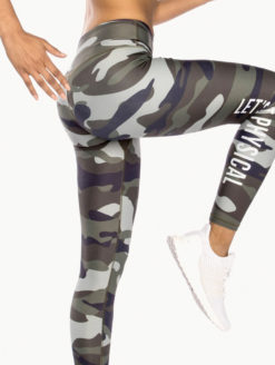 Get Physical Sexy Camo Yoga Leggings