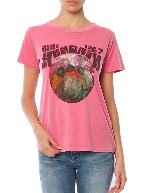 Daydreamer Hendrix Experience Pink Tee - SHOPAMLA