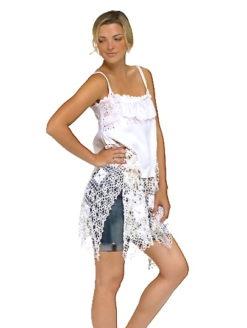 Skinny Strap Crochet Mini Dress -shopamla