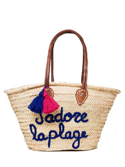 J'adore la Plage Bazaar Bag