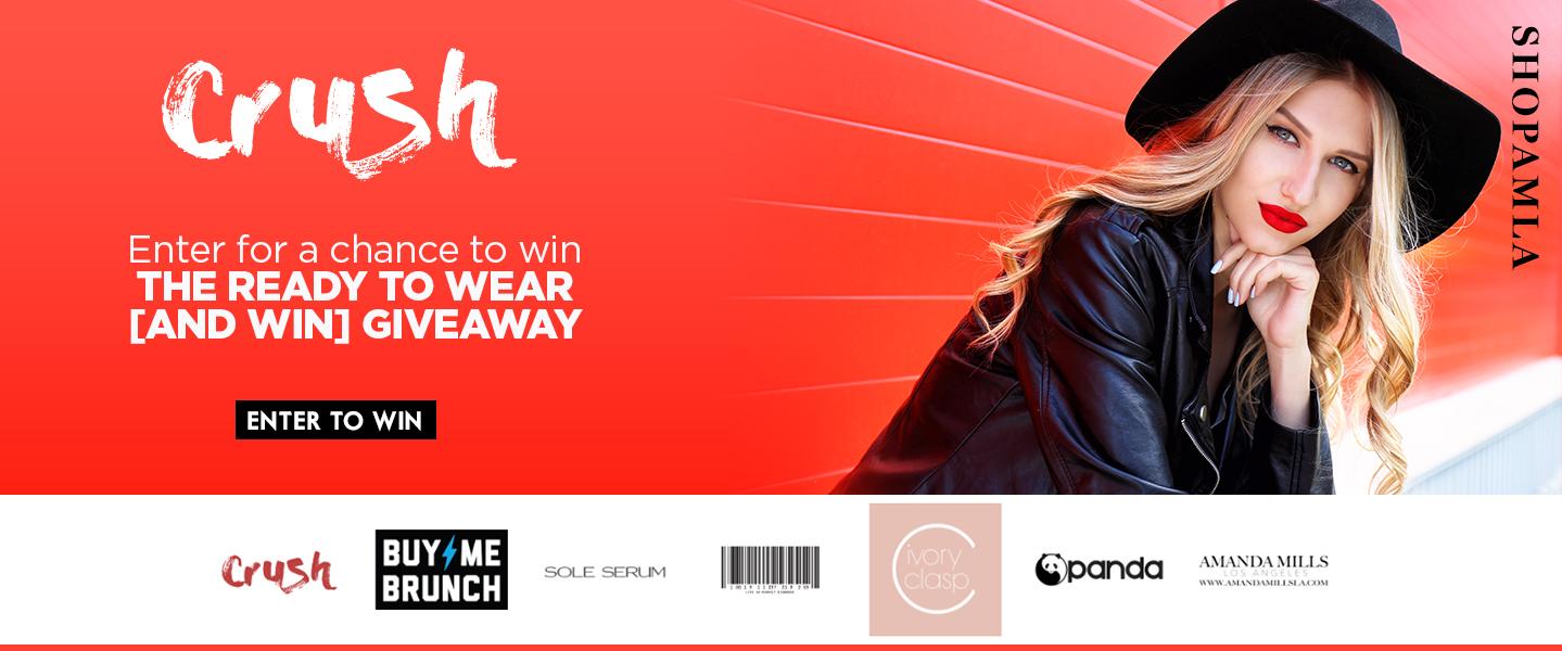 AMLA Crush fashion Ready to wear giveaway