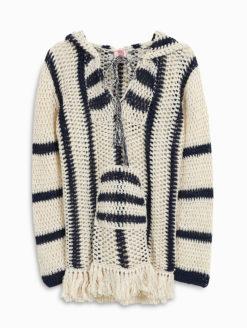 Anna Kosturova Baja Crochet Hoodie