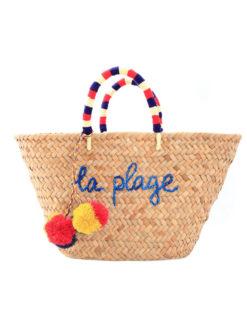 Kayu La Plage Pom Pom Basket