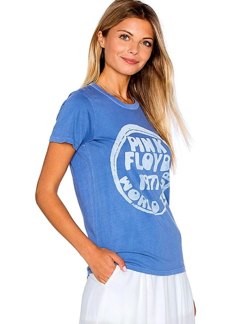 PINK FLOYD BLUE World Tour Tee -amla