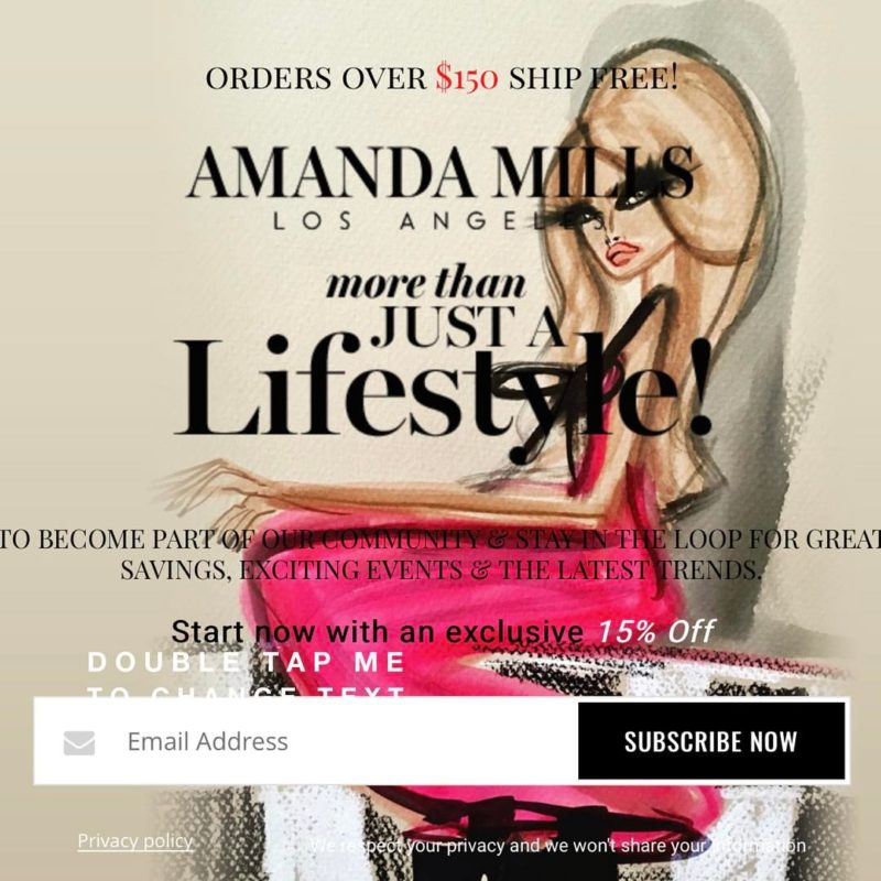 [Interview] Amanda Mills, Founder SHOPAMLA