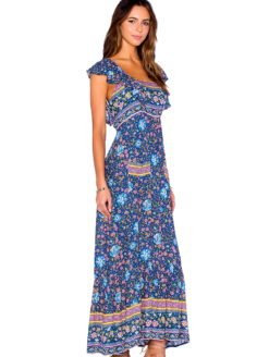 Monterey Festival Floral Fields Maxi Dress