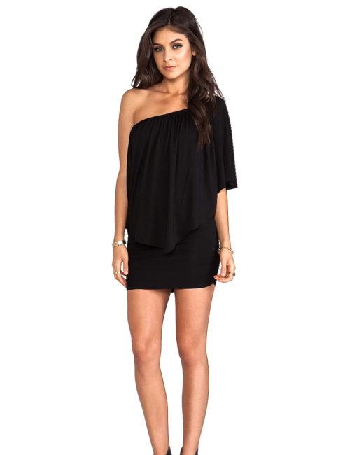 MINA CONVERTIBLE BLACK DRESS