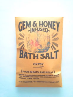 Gem Honey Infused Bath Salt Four Pack