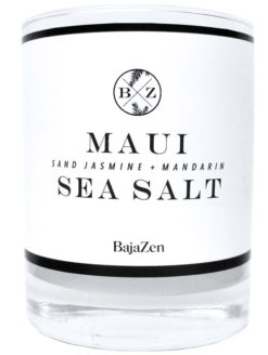 Maui Sea Salt Organic Baja Zen Candle