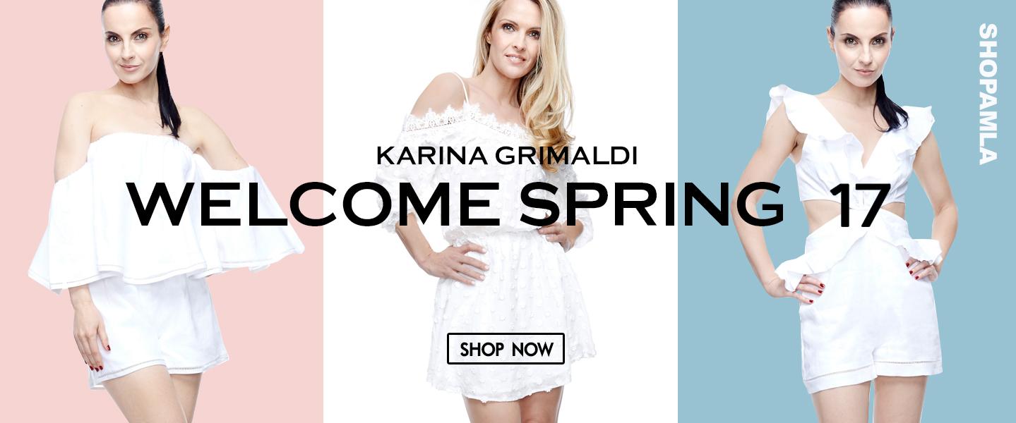 AMLA Karina Grimaldi Welcome Spring 17