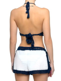 Anna Kosturova Sailor Nomad Giza Shorts - shop amla