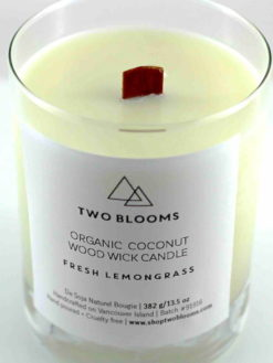LEMONGRASS ORGANIC COCONUT WAX CANDLE