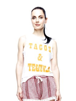 TACOS TEQUILA LADIES PLEASE TEE