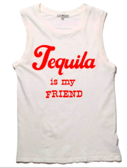 TEQUILA LOVERS LADIES LUSH TEE