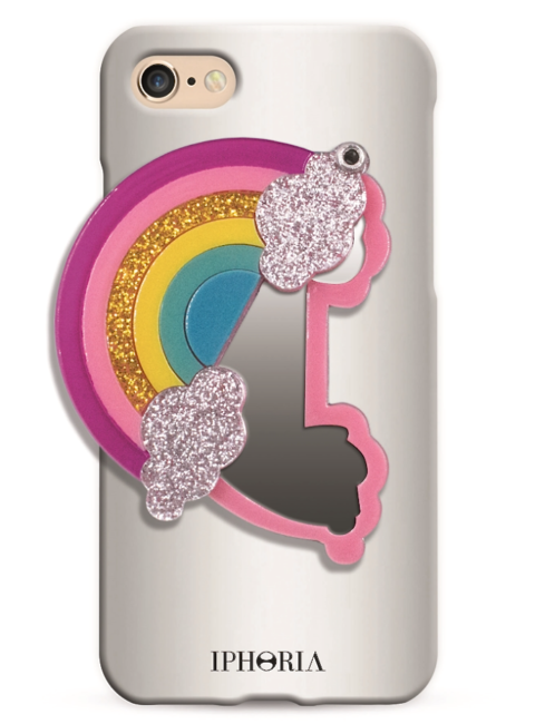 IPHORIA Rainbow Mirror Case iPhone 7 -amla