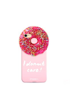 Pink Round Case Donut Care iPhone 7 - shop amla