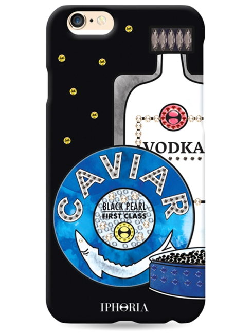Caviar Vodka Rocks IPHORIA iPhone Case - SHOP AMLA