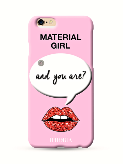 IPHORIA MATERIAL GIRL PINK MIRROR IPHONE CASE - AMLA
