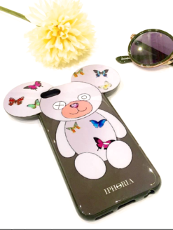 Butterfly Teddy Olive Apple iPhone 6 6S - amanda mills los angeles