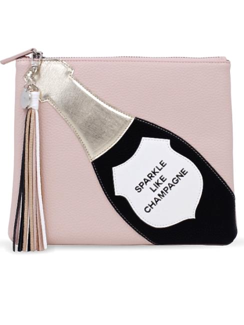 SPARKLE LIKE CHAMPAGNE Cosmetic Bag - shop amla