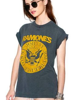 RAMONES SASSY SHORT SLEEVE SLIM TEE