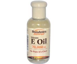 سن داون زيت فيتامين E للعناية بالبشرة oil