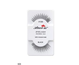 رموش طبيعيه Natural Hair Eyelashes 505