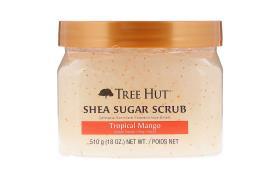 Tree Hut, Shea Sugar Scrub، المانجو الاستوائية، 18 أوقية (510 جم)