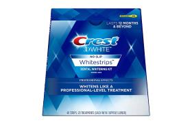 لصقات كرست لتبييض الاسنان Crest 3D LUXE White Whi
