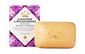 Lavender  Wildflowers Bar Soap  5 oz (142 Grams)