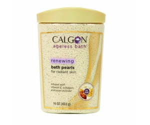 Calgon Ageless Bath Renewing Pearls, 16 Ounce