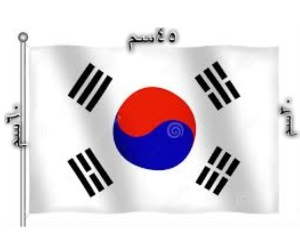 علم كوريا