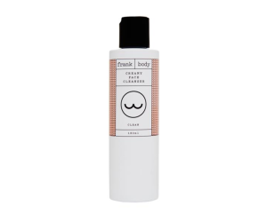 frank body cream face cleanser