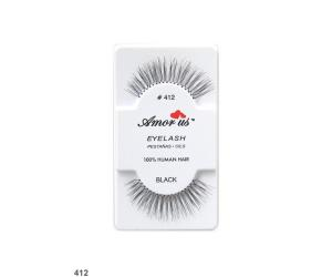 رموش طبيعيه Natural Hair Eyelashes 412
