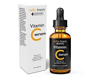Radha Beauty Vitamin C Serum for Face, 2 fl