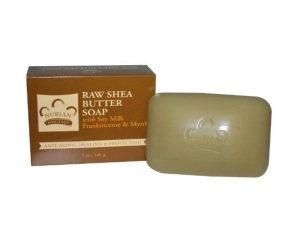 Nubian Heritage Raw Shea Butter Bar Soap 5 Oz