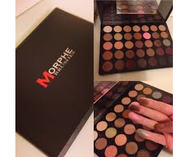Morphe 35W  35 color Warm Palette