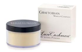 Graftobian HD Cashmere Setting Face Powder  Banana
