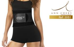 Ann Chery 2051 Latex Fit Waist Trimmer Beltمقاس M